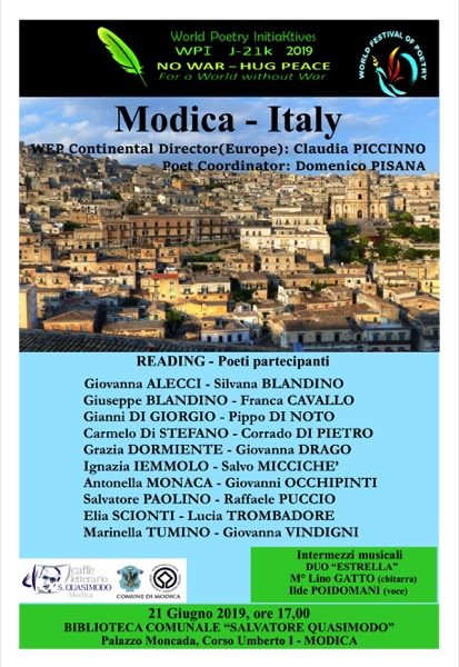 World Festival of Poetry Modica