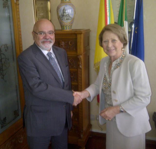 94053476fa7b ... Ibleo Cesare Borrometi ha reso visita oggi al commissario straordinario  della Provincia di Ragusa-Libero Consorzio Comunale