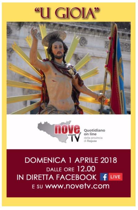 the latest 68c4e 32e7b Pasqua a Scicli  il Gioia! Diretta Internet da Scicli con NoveTV, a cura di  Giovanni Giannone e del direttore Carmelo Riccotti La Rocca.